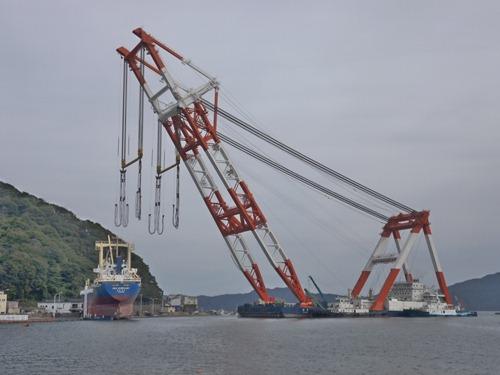大型貨物船アジアシンフォニー(4,724t)撤去作業