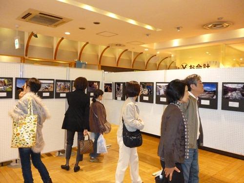 東京・銀座で復興写真展開催しました。