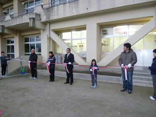 釜石学童育成クラブの新築落成記念式典