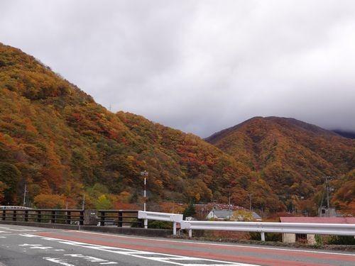 【仙人峠の紅葉】 立冬過ぎて・・・