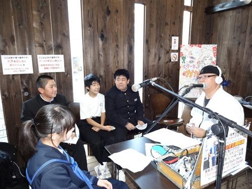 【復興支援ラジオ】 被災地生徒が希望をのせて!