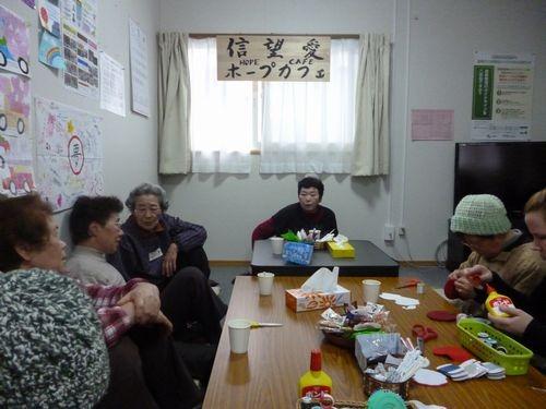 信望愛 ホープカフェ (川目仮設集会所)