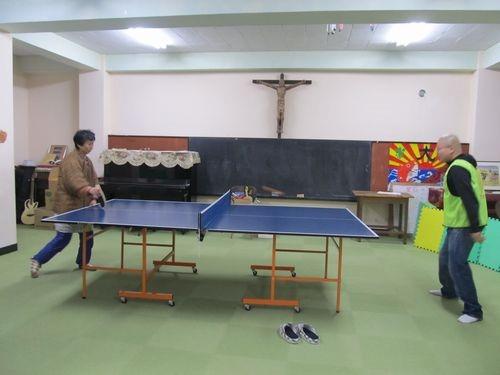 カリタス釜石の【お楽しみ卓球イベント】&「ぷらざ☆かだって」について