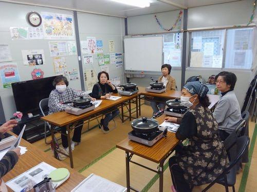 釜石・大槌大学 ポリパン体験会 in 平田第2仮設団地