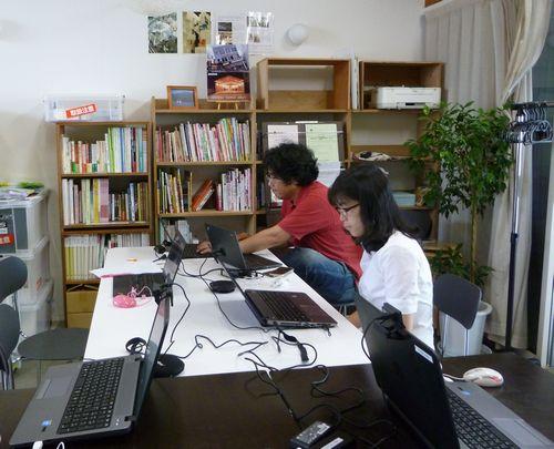 第4回Skypeトーーク!釜石・品川・熊本3拠点を繋いで。