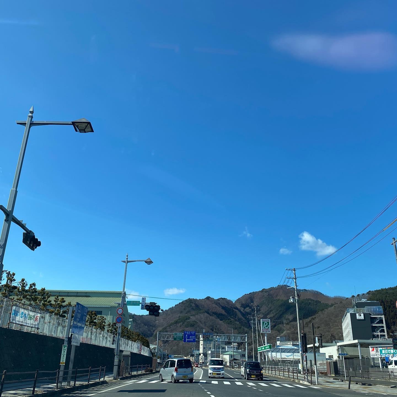 今日も釜石は良い天気。。。だけど風つよし︎